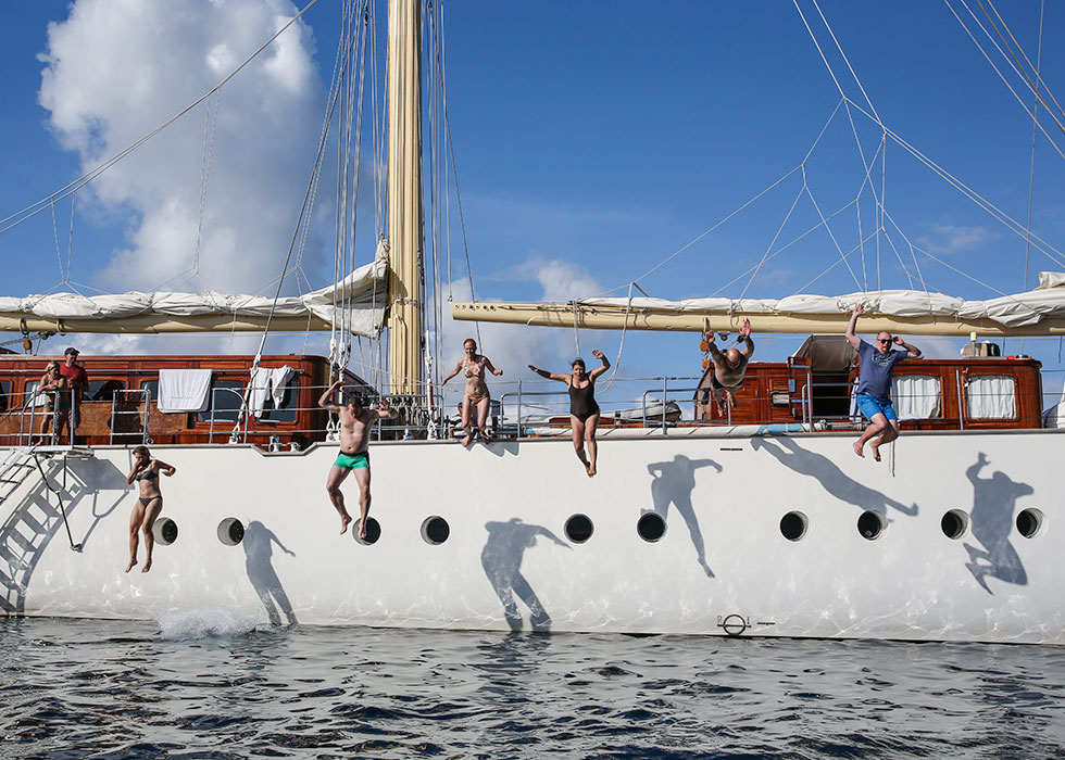 Sailing-Classics, fun on board
