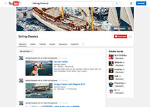 SAILING-CLASSICS, YouTube-Channel